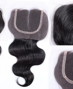 Virgin Hair Lace Closure Body Wave
